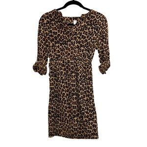 EUC Cheetah Print Dress